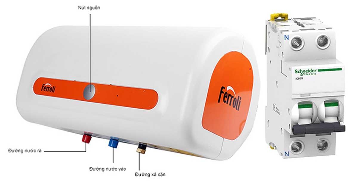 3 lưu ý quan trọng khi lắp đặt bình nóng lạnh Ferroli trong mùa đông này