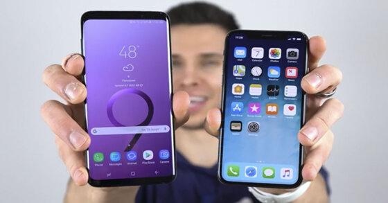 3 lý do để người dùng thích Samsung Galaxy S9 hơn là iPhone X