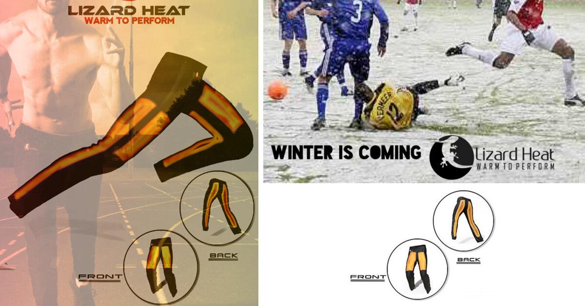 3 lý do giúp Lizard Heat trở thành quần giữ nhiệt nam đá bóng công nghệ cao tuyệt vời nhất cho các cầu thủ