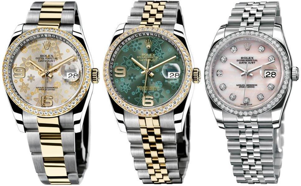 3 mẫu đồng hồ Rolex nữ các tín đồ thời trang không thể không biết