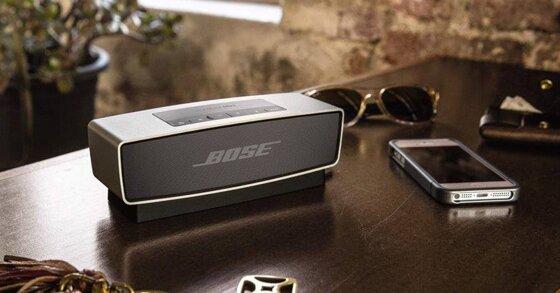 3 mẫu loa bluetooth nghe nhạc vàng hay nhất của Bose