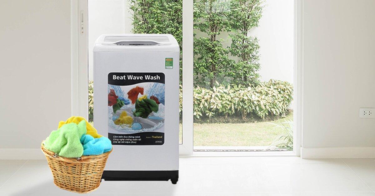 3 mẫu máy giặt Hitachi 8kg có khả năng tự vệ sinh lồng giặt giá rẻ nhất từ 5 triệu đồng
