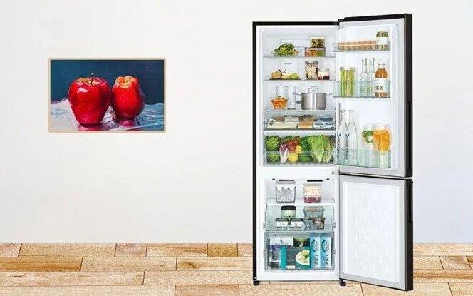 3 mẫu tủ lạnh Hitachi side by side, ngăn đá trên, dưới mới nhất
