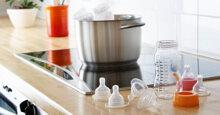 3 phương pháp khử trùng bình sữa an toàn và hiệu quả cho bé