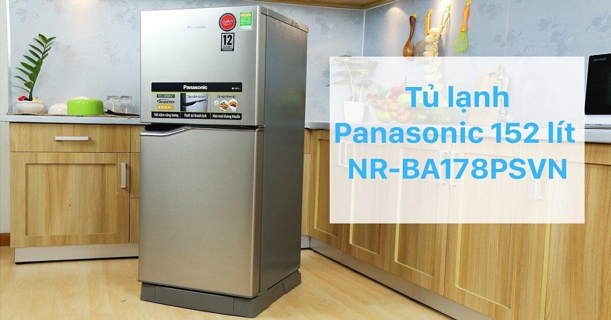 3 tủ lạnh Panasonic giá rẻ chất lượng tốt nhất cho Tết 2019