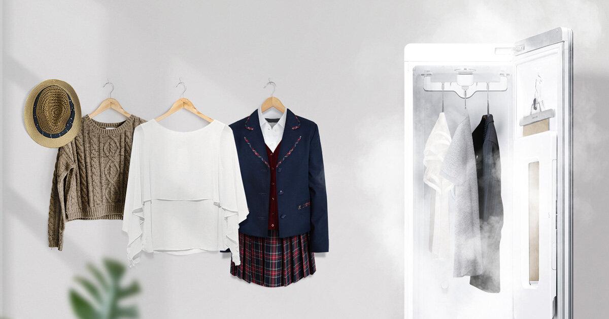 3 ứng dụng bất ngờ của hơi nước trong việc giặt giũ và làm mới quần áo