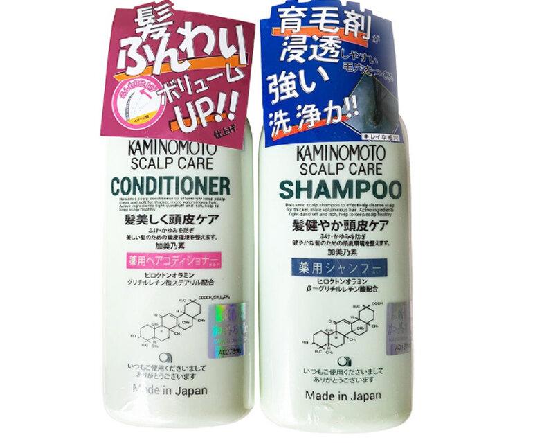Dầu gội kích thích mọc tóc Kaminomoto Medicated Shampoo 300ml - Giá tham khảo khoảng 239.000 vnđ - 350.000 vnđ/bộ dầu gội & xả