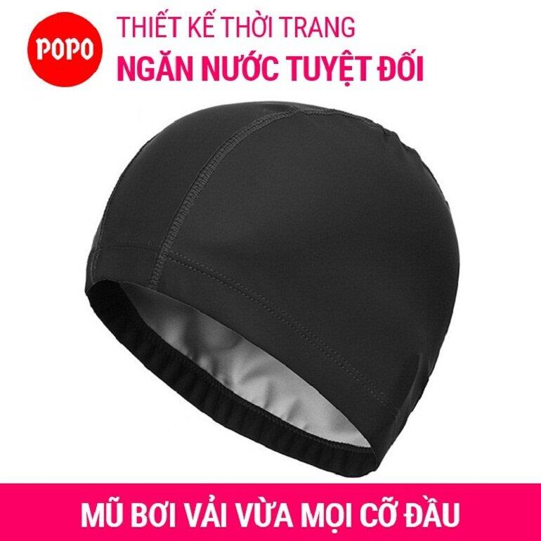 Mũ bơi vải Spandex CA36 POPO Collection