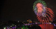 32 địa điểm bắn pháo hoa đêm giao thừa Kỷ Hợi 2019 tại Hà Nội