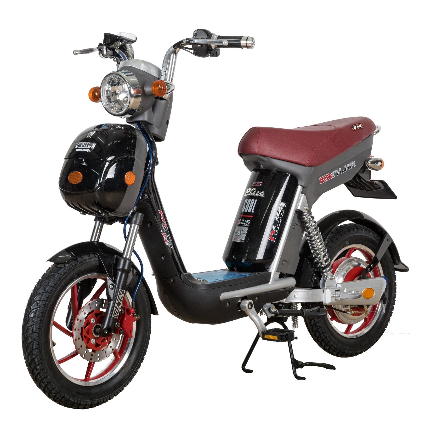 Xe đạp điện Nijia phanh đĩa gọn nhẹ, thời trang