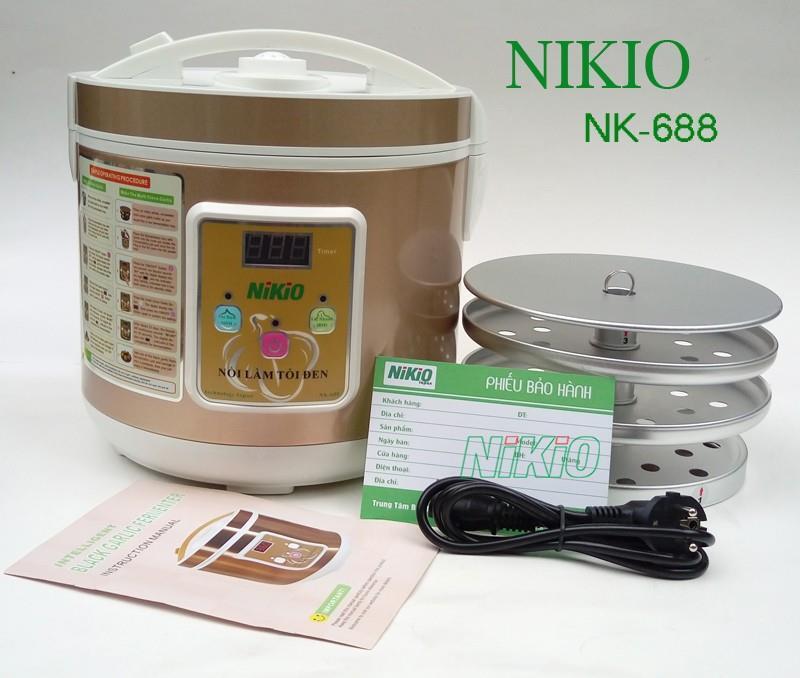 máy làm tỏi đen Nikio