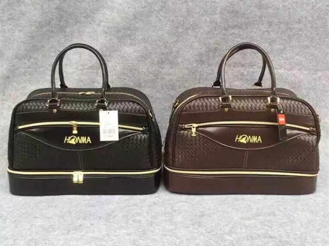 Chất liệu sử dụng để sản xuất túi golf Honma đều là các loại vải và loại da cao cấp chuyên dùng trong thể thao