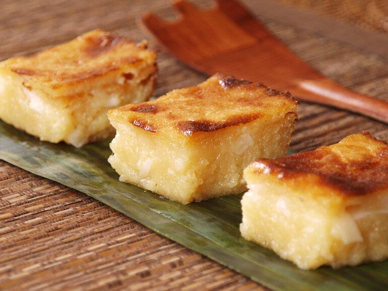 Cách làm bánh khoai mì nướng bằng chảo chống dính