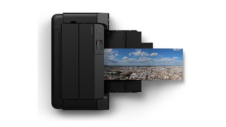 Máy in Canon imagePrograf Pro-300 nhỏ hơn nhưng mạnh hơn.