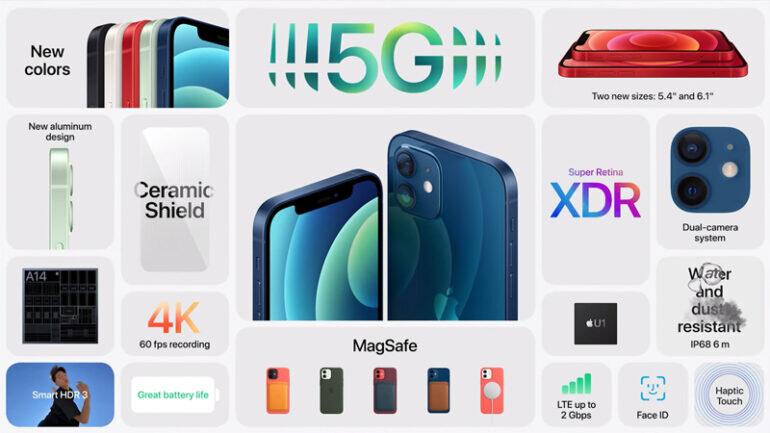 iphone 12 mini và iphone 12