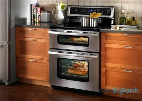 Lò nướng âm tủ có thiết kế sang trọng với mức giá khá cao