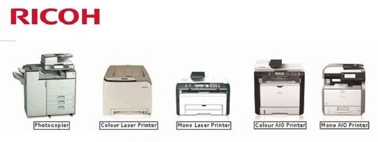 Máy photocopy Ricoh.