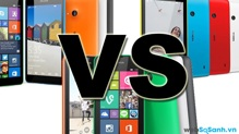 So sánh Microsoft Lumia 535, Lumia 530 và Lumia 520