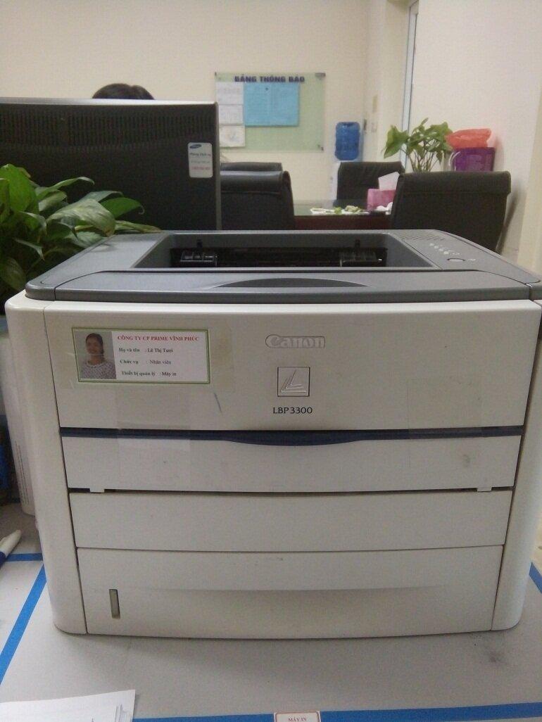 Mua máy in LBP3300 cũ trên các trang rao vặt