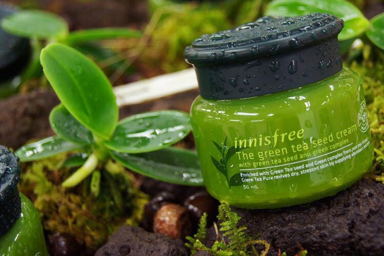 Kem dưỡng sâu chiết xuất mầm trà xanh Innisfree The Green Tea Seed Cream