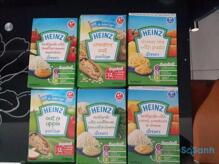 Bảng giá bột ăn dặm Heinz của Nga và Anh