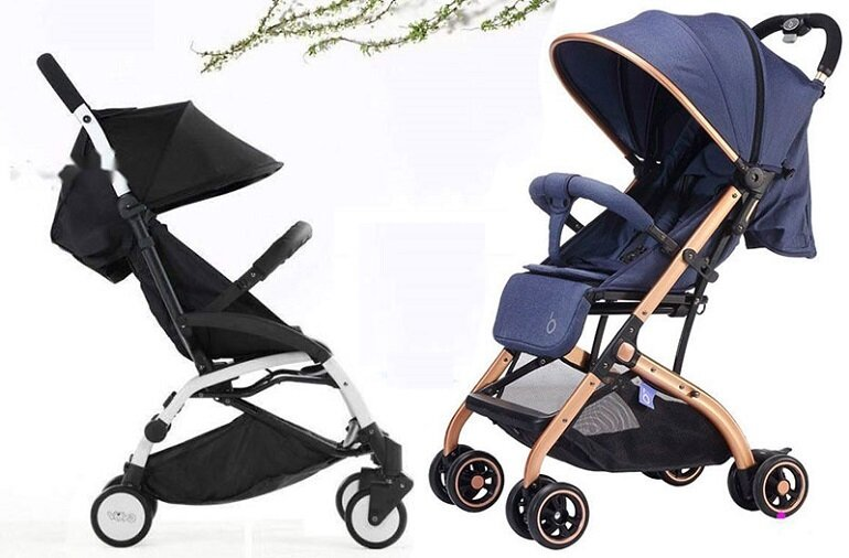 So sánh xe đẩy gấp gọn Vovo Travel và Baobaohao QZ1, nên mua xe nào cho bé?