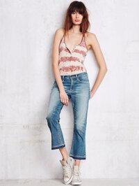 4 công thức mix đồ siêu chất với quần jeans lửng