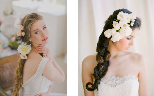 4 kiểu tóc cô dâu cho cô nàng mặt tròn giúp bạn xinh đẹp và duyên dáng hơn trong ngày cưới