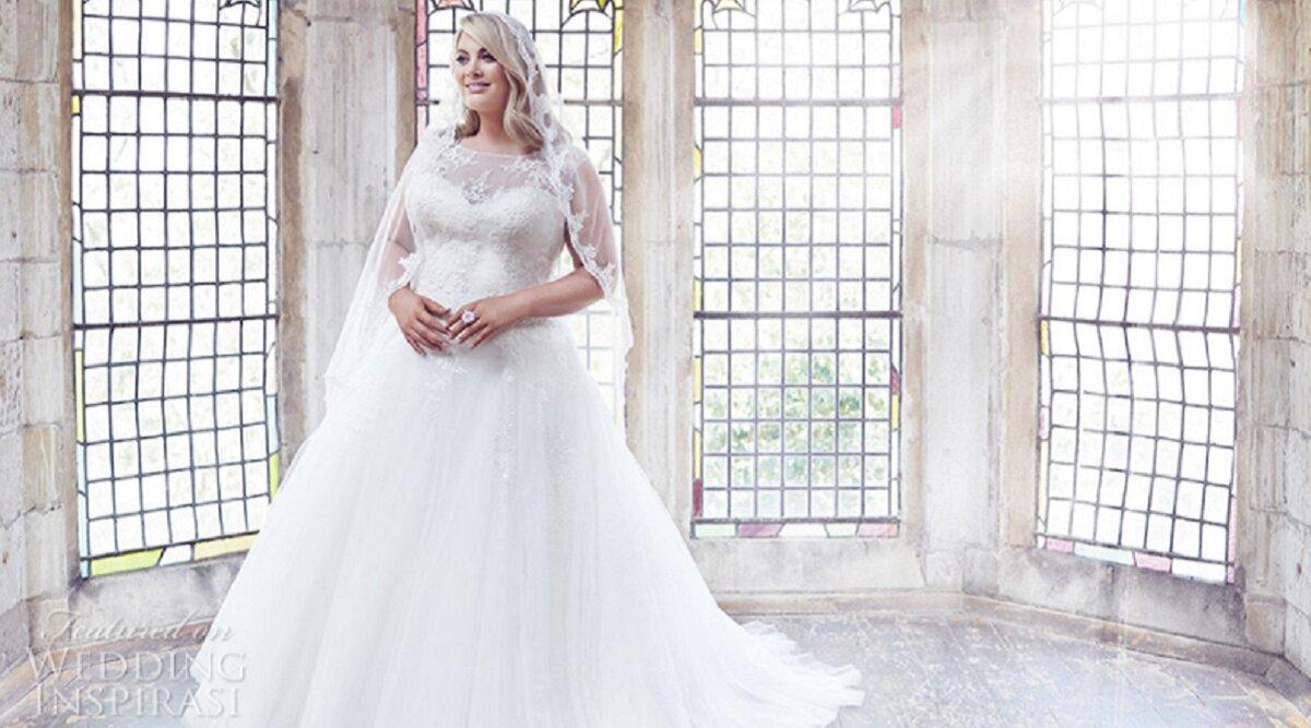 """4 lưu ý khi chọn váy cưới cho cô dâu """"mũm mĩm"""""""