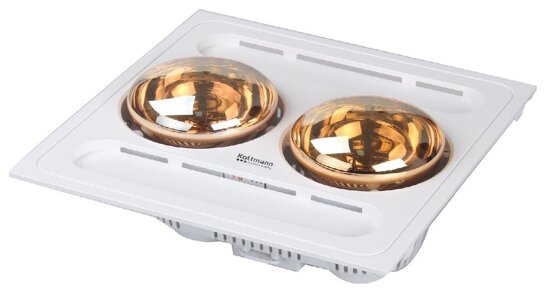 4 lý do bạn nên lựa chọn đèn sưởi nhà tắm kottmann 2 bóng