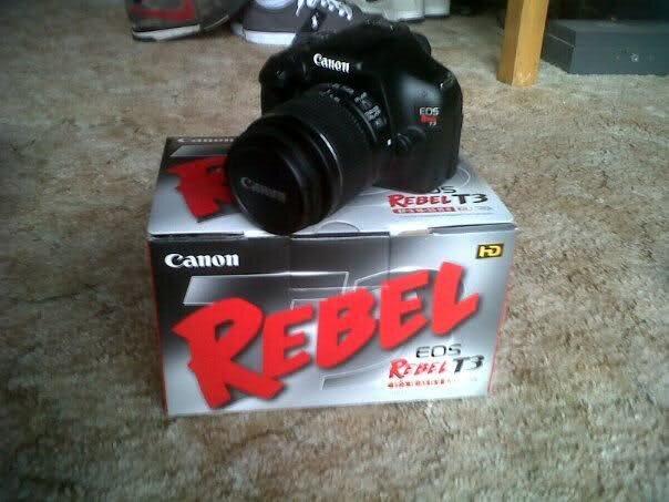 """4 lý do để bạn """"tậu"""" ngay 1 chiếc Canon Rebel T3 (1100) SLR (phần 1)"""