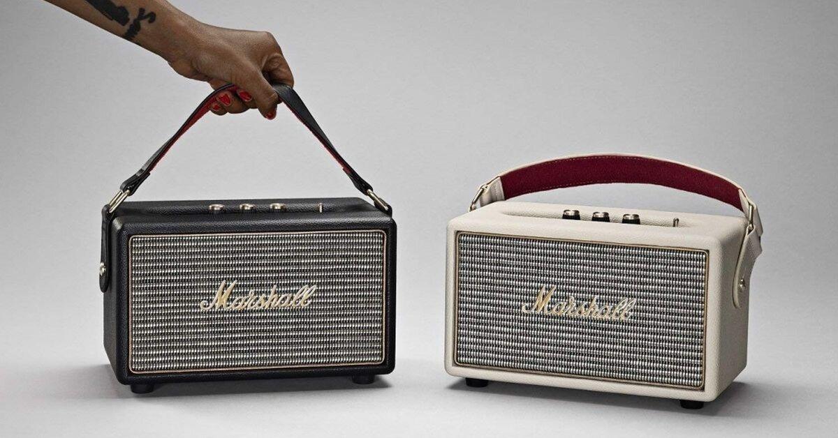 4 lý do nên chọn loa bluetooth Marshall