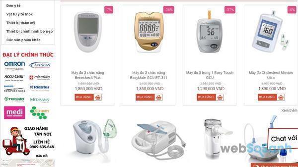 Cửa hàng dụng cụ y khoa thẩm mỹ Tuấn Kiệt