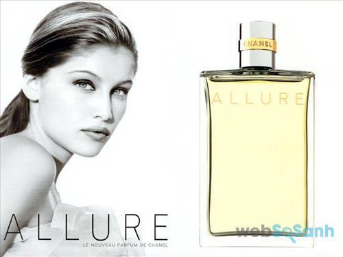 Nước hoa nữ Chanel Allure for Woman Eau de parfum mang phong cách cổ điển, nữ tính và đầy quyến rũ