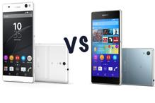 So sánh Sony Xperia C5 Ultra và Sony Xperia Z3 Plus: Nên mua điện thoại nào?