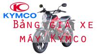 Bảng giá xe máy giá rẻ Kymco mới nhất hôm nay tháng 12/2017