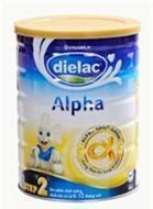 Sữa bột Dielac Alpha Step 2 - hộp 400g (hộp thiếc dành cho trẻ từ 6 - 12 tháng)