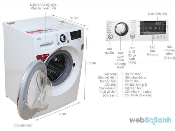 máy giặt lg 9kg giá bao nhiêu tiền