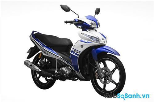 Thiết kế của Yamaha Jupiter khá cơ bắp và hầm hố