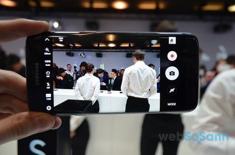 smartphone chuyên selfie samsung s7 edge