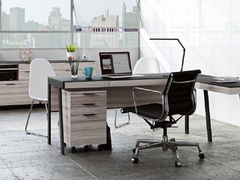 Chất lượng tốt là ưu điểm nổi bật cả bàn ghế văn phòng Xuân Hòa
