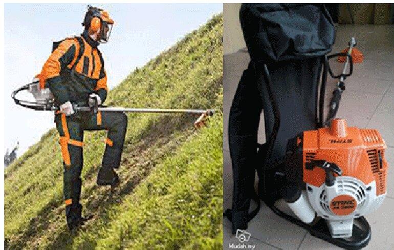 máy cắt cỏ đeo lưng
