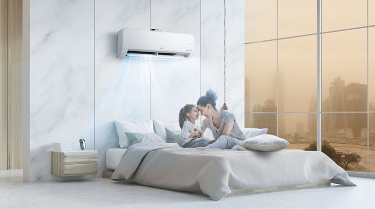 Điều chỉnh nhiệt độ phù hợp chính là việc bạn đang tự tay bảo vệ sức khoẻ của trẻ nhỏ có trong gia đình