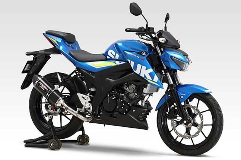 Ấn tượng với thiết kế xe Suzuki GSX R150