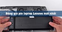 Pin laptop Lenovo giá bao nhiêu ?