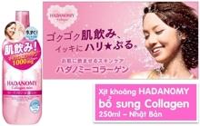 Review xịt khoáng dưỡng da Hadanomy Collagen Mist