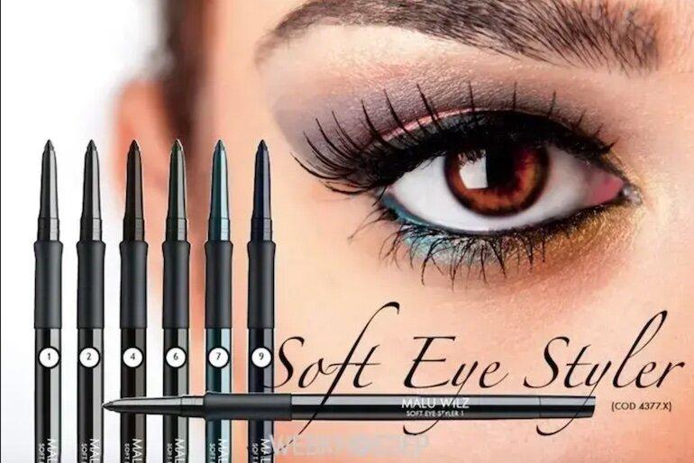 Chì kẻ mắt Malu Wilz Soft Eye Styler