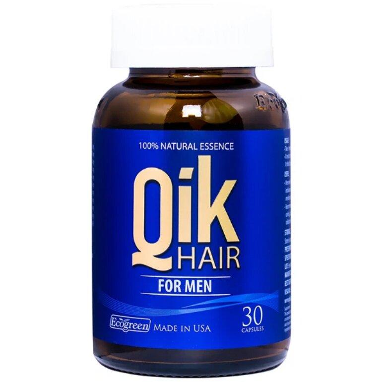 Thuốc hỗ trợ mọc tóc dành cho nam Qik Hair