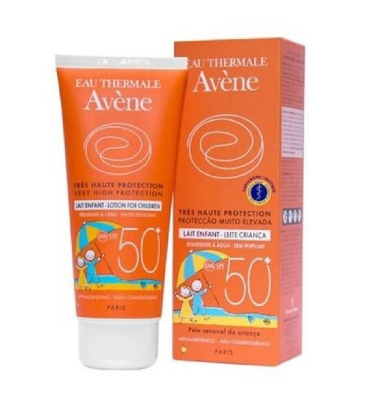 Kem chống nắng Avène Very High Protection Lotion for Children