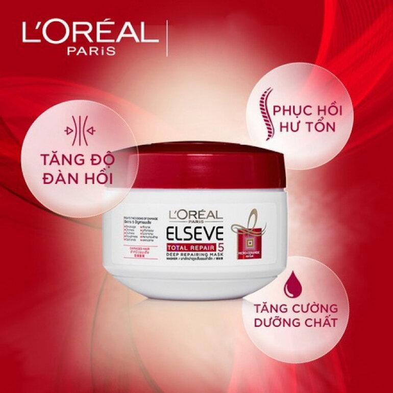 Kem ủ phục hồi tóc L'Oréal Total Repair 5 Deep Repairing